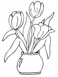 Kleurplaten Bloemen Topkleurplaat Nl