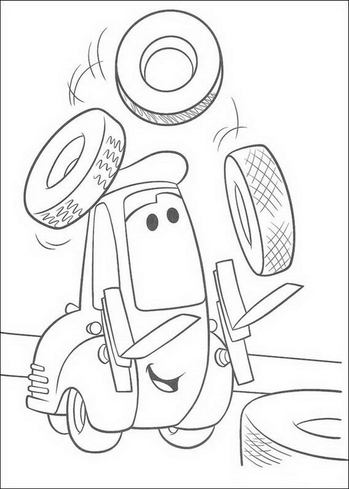 Cars Kleurplaten 187 Topkleurplaat Nl