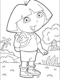 Dora Kleurplaten Topkleurplaat Nl