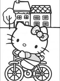 Kleurplaten Met Hello Kitty.Hello Kitty Kleurplaten Topkleurplaat Nl