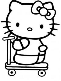 Kleurplaten Hello Kitty Uitprinten.Hello Kitty Kleurplaten Topkleurplaat Nl