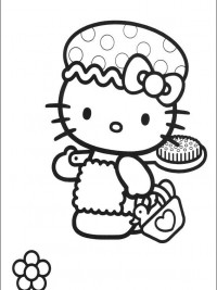 Kleurplaten Hello Kitty Princess.Hello Kitty Kleurplaten Topkleurplaat Nl