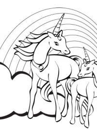 verjaardag kleurplaat paard janknegtfineart