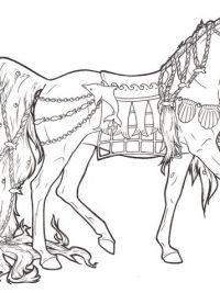 Kleurplaten Voor Volwassenen Paarden.30 Kleurplaten Paarden Tip Gratis Te Printen Topkleurplaat Nl