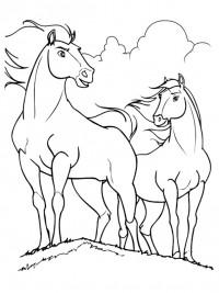 Kleurplaten Mandala Paarden Archidev