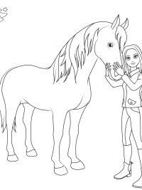Kleurplaat Paardrijden Dressuur 30 Kleurplaten Paarden Tip Gratis Te Printen