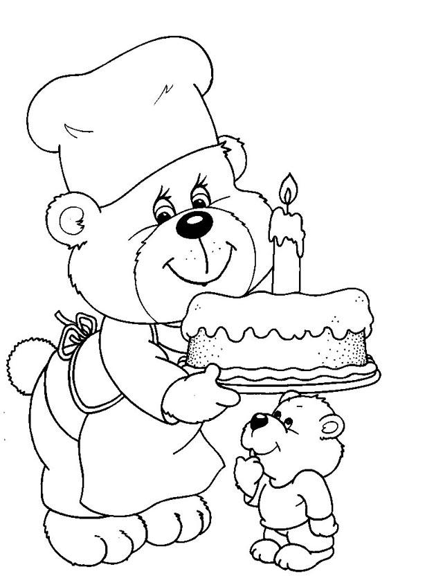 nog een beer met taart