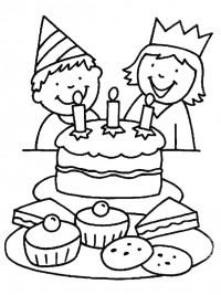 Kleurplaat Verjaardag Slingers Kleurplaten Verjaardag Gratis Printen Amp Kleuren