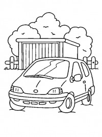 Auto Kleurplaten Topkleurplaat Nl