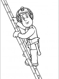 Kleurplaten Brandweer Sam.Brandweerman Sam Kleurplaten Topkleurplaat Nl