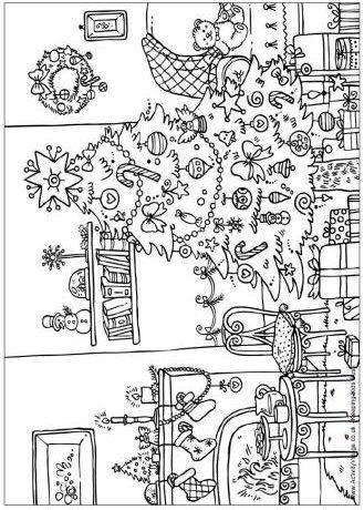 kerst kleurplaat 29 topkleurplaat nl
