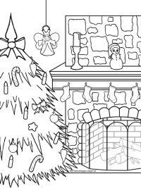 Kleurplaten Voor Volwassenen Kerstmis.75 Kerst Kleurplaten Gratis Te Printen Topkleurplaat Nl