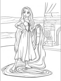 Kleurplaten Prinses Rapunzel.20 Disney Prinsessen Kleurplaten Topkleurplaat Nl