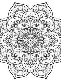 Kleurplaten Mandala Lente.25 Mandala Kleurplaten Gratis Te Printen Topkleurplaat Nl