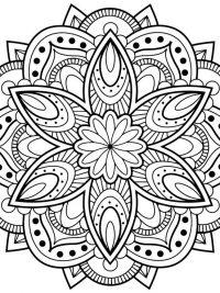 Mandala Kleurplaten Pauw.25 Mandala Kleurplaten Gratis Te Printen Topkleurplaat Nl