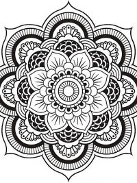 Mandala Kinderkleurplaten.25 Mandala Kleurplaten Gratis Te Printen Topkleurplaat Nl