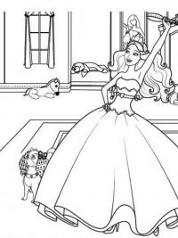 Kleurplaten Prinses Uitprinten.20 Disney Prinsessen Kleurplaten Topkleurplaat Nl