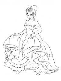 Kleurplaten Van Prinsessen En Prinsen.20 Disney Prinsessen Kleurplaten Topkleurplaat Nl