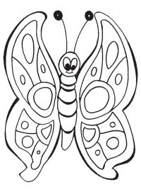 Grote Kleurplaten Vlinders.Kleurplaten Vlinders Topkleurplaat Nl