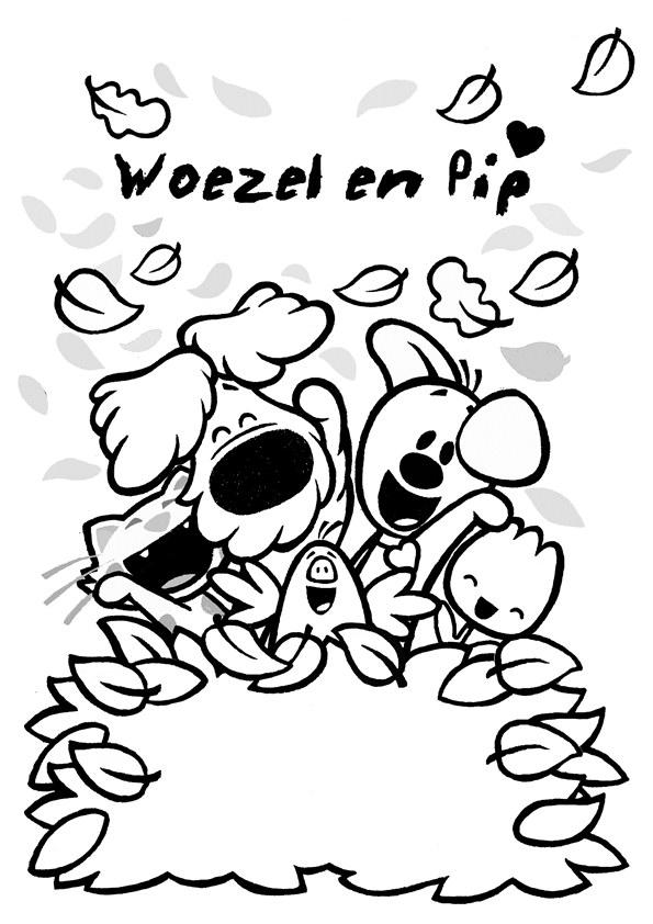 Woezel en Pip kleurplaten 5.00 / 5 ( 1 stemmen)