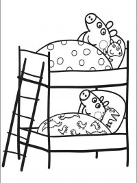 Peppa pig kleurplaten for Peppa pig coloring pages pdf