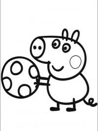 Kleurplaat Frozne Peppa Pig Kleurplaten Topkleurplaat Nl