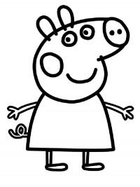 Kleurplaten Op Nummer Voor Volwassenen Peppa Pig Kleurplaten Topkleurplaat Nl