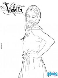 Violetta kleurplaten - Violetta a colorier ...