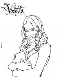 Violetta Kleurplaten Topkleurplaat Nl