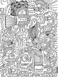 Kleurplaten Volwassenen Sinterklaas.60 Kleurplaten Voor Volwassenen Gratis Te Printen