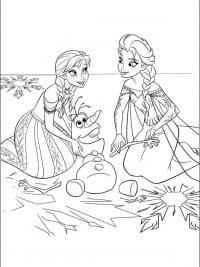 Kleurplaten Frozen Anna En Elsa.30 Gratis Te Printen Kleurplaten Frozen Topkleurplaat Nl