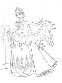 Kleurplaten Disney Frozen Elsa.30 Gratis Te Printen Kleurplaten Frozen Topkleurplaat Nl