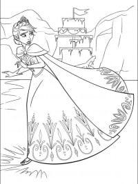 Kleurplaat Frozen Elsa En Anna En Olaf Kleurplaten Frozen Topkleurplaat Nl