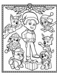 Kleurplaat Puppy Kerst 35 Paw Patrol Kleurplaten Gratis Te Printen