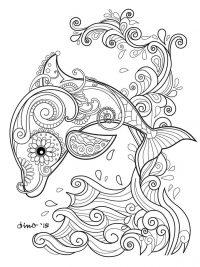 Kleurplaten Van Baby Dolfijnen.20 Gratis Te Printen Dolfijn Kleurplaten Topkleurplaat Nl