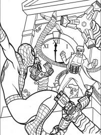 Gratis Kleurplaten Spiderman.Spiderman Kleurplaten Topkleurplaat Nl