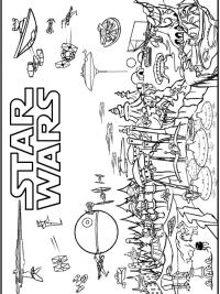 Kleurplaten Van Lego Star Wars.Star Wars Kleurplaten Topkleurplaat Nl
