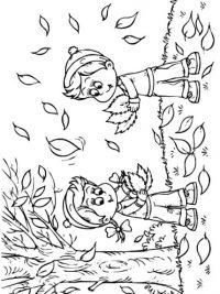 Kleurplaten Van Herfst.30 Kleurplaten Herfst Gratis Te Printen Topkleurplaat Nl
