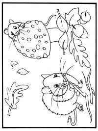 Kleurplaten Herfst Winter.30 Kleurplaten Herfst Gratis Te Printen Topkleurplaat Nl