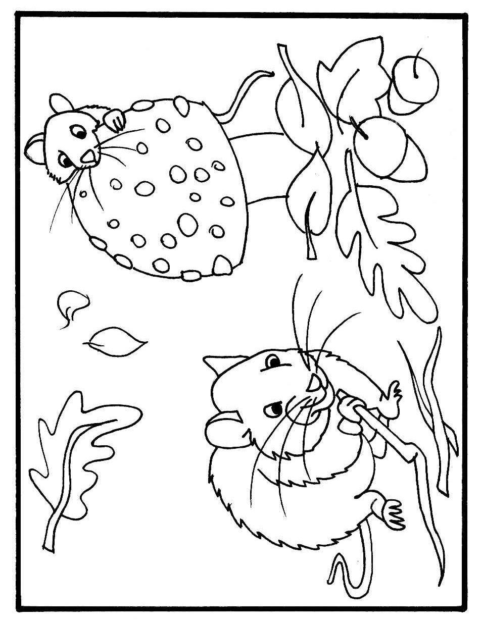 Kleurplaten Voor De Herfst.Herfst Kleurplaten 16 Topkleurplaat Nl