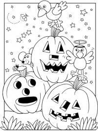 Kleurplaten Halloween Peuters.35 Halloween Kleurplaten En Horror Kleurplaten