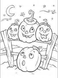 Kleurplaten Halloween Maskers.35 Halloween Kleurplaten En Horror Kleurplaten Topkleurplaat Nl