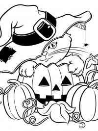 Enge Kleurplaten Van Halloween.35 Halloween Kleurplaten En Horror Kleurplaten