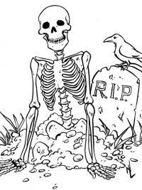 35 Halloween Kleurplaten En Horror Kleurplaten