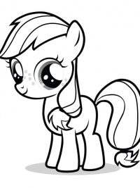20 Gratis Te Printen My Little Pony Kleurplaten