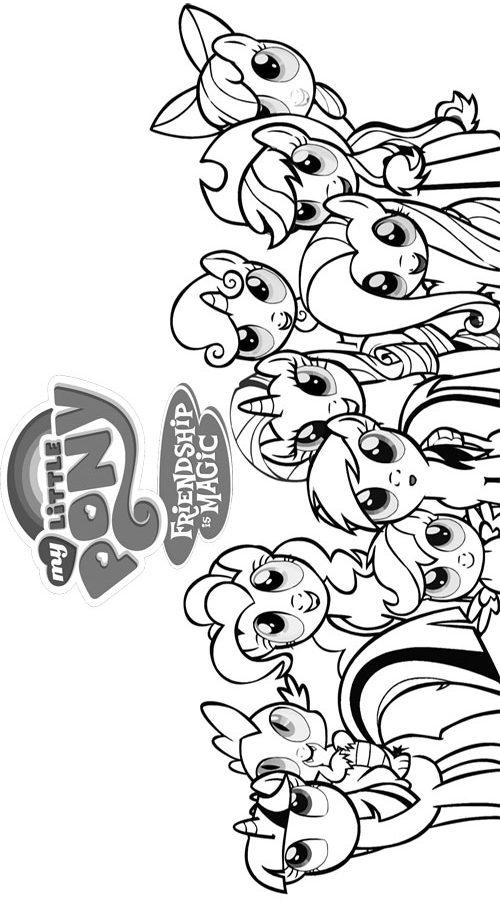 my pony kleurplaat 22 topkleurplaat nl