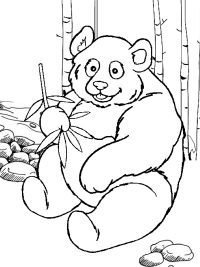 Kleurplaat Boerderij Met Dieren Pandabeer Kleurplaten Topkleurplaat Nl