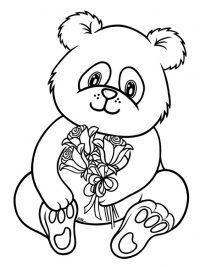 Kleurplaat Voor Volwassenen Dieren Schattig Pandabeer Kleurplaten Topkleurplaat Nl