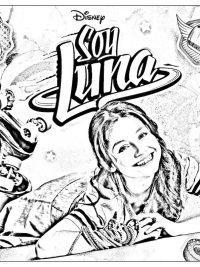Soy Luna Kleurplaten Topkleurplaat Nl