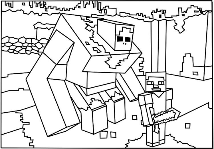 minecraft-kleurplaat-16